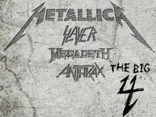 Metallica,THE BIG 4 ,3 Juli 2011