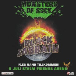 Bussresa Black Sabbath Monsters of Rock