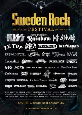 Bussresa Sweden Rock Festival 2019